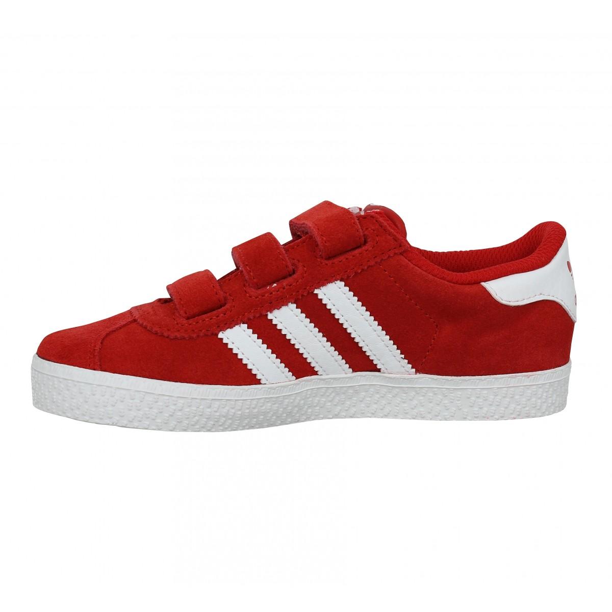 basket adidas gazelle rouge femme