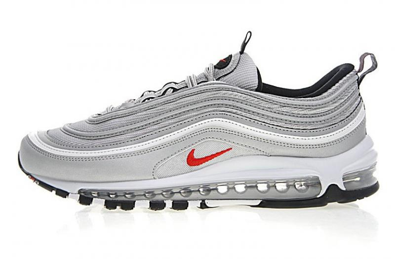 air max 97 grise et rouge